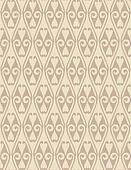 Brown Colors Art Nouveau Style Pattern design. Original Pattern