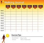 Walking Journal Chart