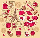 Set symbols of Paris