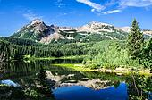 Colorado Lake and Mountains