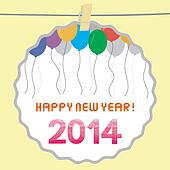 Happy new year 2014 card13
