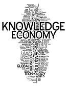 Word Cloud Knowledge Economy