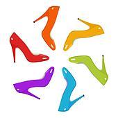 Rainbow Shoes