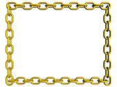 Golden chain frame