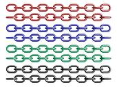 Colored chains