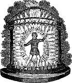 Ancient entertainer