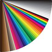 Fan of colors
