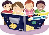 Kids Learning Astronomy