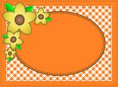 Jpg.  Oval Orange Yellow Flowers