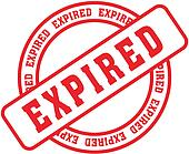 expired word stamp7