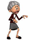 Toon Figure Grandma