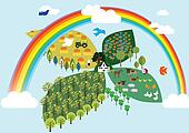 Farm in the sky