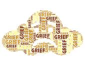 Grief Word Means Broken Hearted And Angst