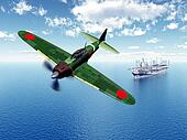 Fighter Bomber and Aircraft Carrier