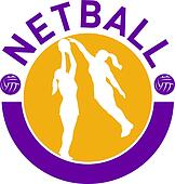 netball player shooting ball