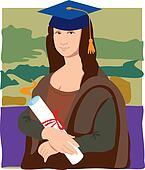 Mona Lisa Graduate