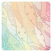 Lacy vintage background in soft colors.