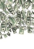 dollar rain isolated 2