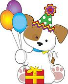 Cute Puppy Birthday