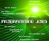 Programming Jobs Represents Software Design And Development