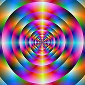 Psychedelic Concentric Rings