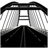 Bridge Clip Art - Royalty Free - GoGraph