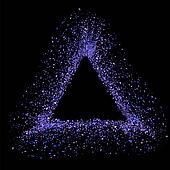 Blue Triangle Frame