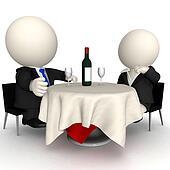 3D business dinner