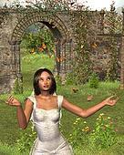 Butterfly Garden Bride - 2
