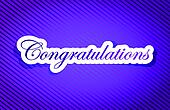 purple texture congratulations illustration