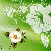 Seamless green background picture