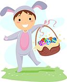 Kid Easter Basket