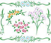 decorative flower design