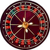 Grunge roulette wheel