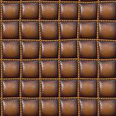 upholster leather in brown