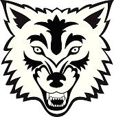 Wolf Face Tattoo
