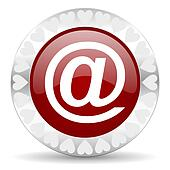 mail valentines day icon