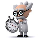 3d Scientist timer