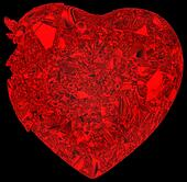 Broken crystal Heart: disease or pain