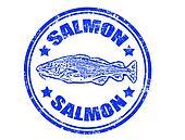 Salmon stamp