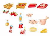 food, ham,