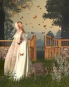 Butterfly Garden Bride