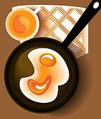 Omelet pan