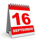 Calendar. 16 September.