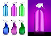 Colorful Spray bottles