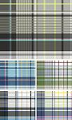 plaid check fabric textile