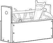 Tool Box Clip Art - Royalty Free - GoGraph