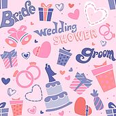Wedding Shower Seamless