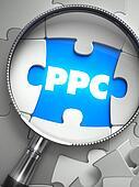 PPC - Missing Puzzle Piece through Magnifier.