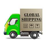 global shipping package